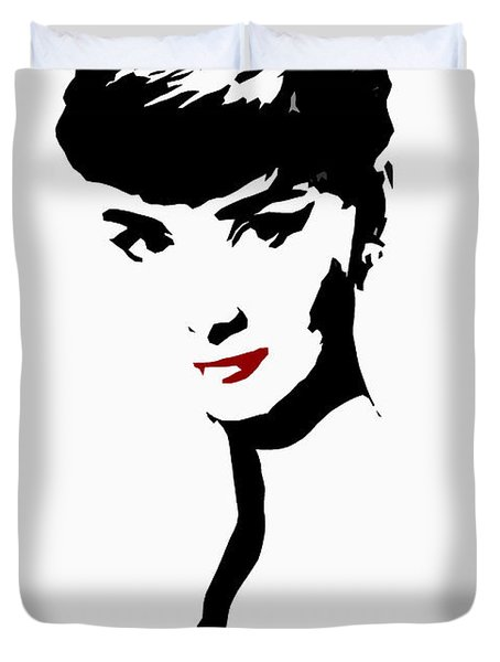Icon Of Beauty Duvet Cover