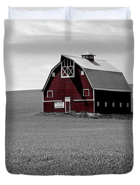 Duvet Cover featuring the photograph Icon Of The Palouse by Sharon Elliott
