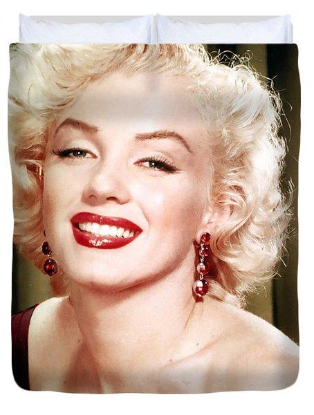 Iconic Marilyn Monroe Duvet Cover