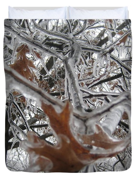 Icy Beckoning Duvet Cover