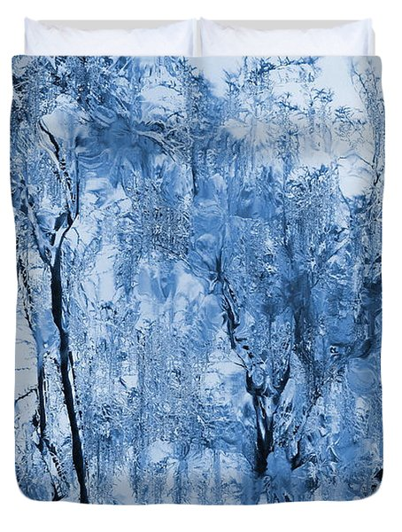 Icy Winter Duvet Cover by Kume Bryant
