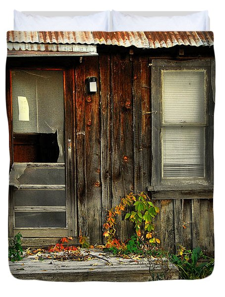 Duvet Cover featuring the photograph Idaho Retirement Estates by Sam Rosen