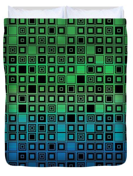 Identical Cells Duvet Cover by Bedros Awak