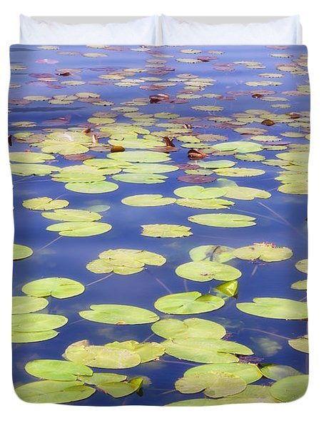 Idyllic Pond Duvet Cover