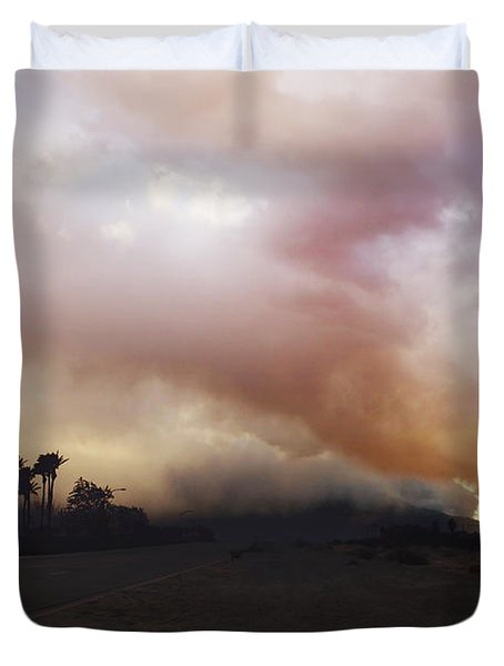 If I Let You Down Duvet Cover by Laurie Search