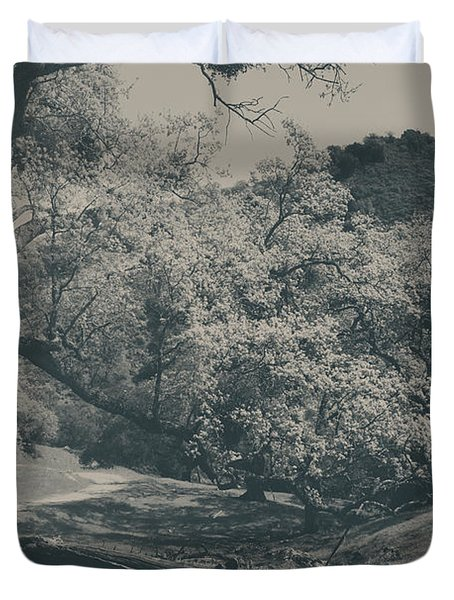 If You Get Lonely Duvet Cover by Laurie Search