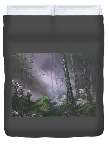 If You Go Down In The Woods Today ? Duvet Cover