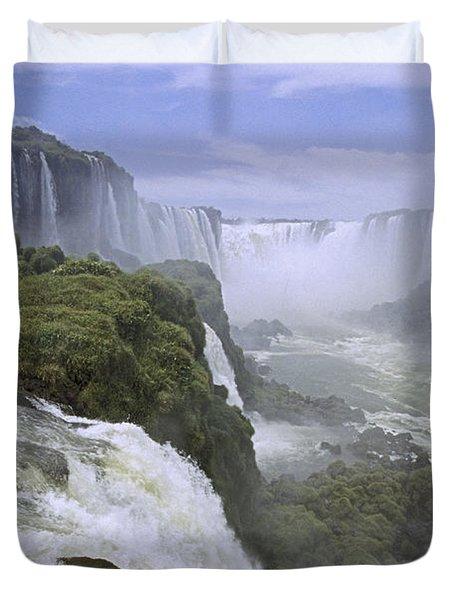Iguazu Falls 1 Duvet Cover