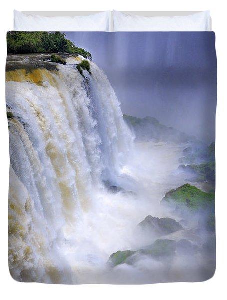 Iguazu Falls IIi Duvet Cover by Bernardo Galmarini