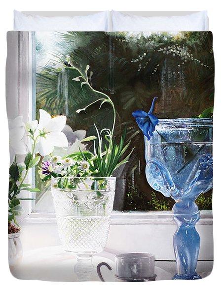 Il Calice Blu Duvet Cover