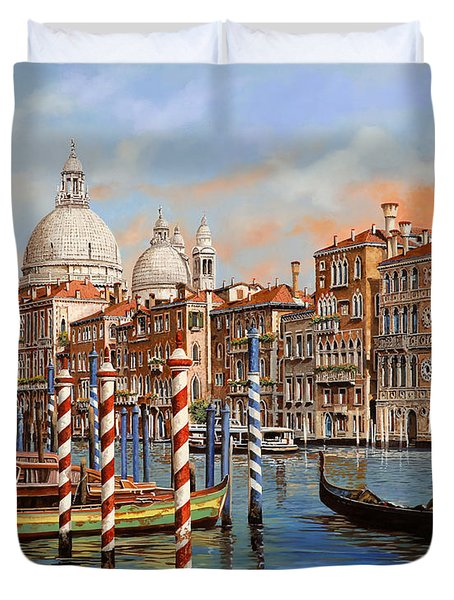 Il Canal Grande Duvet Cover