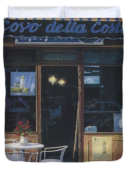 Il Covo Della Costa Duvet Cover