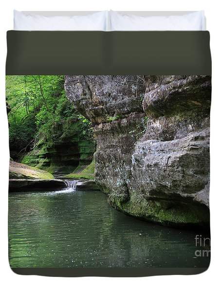Illinois Canyon May 2014 Duvet Cover