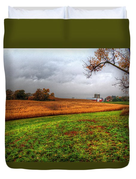Illinois Farmland I Duvet Cover