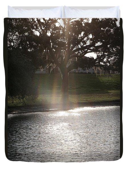 Illuminated Tree Duvet Cover