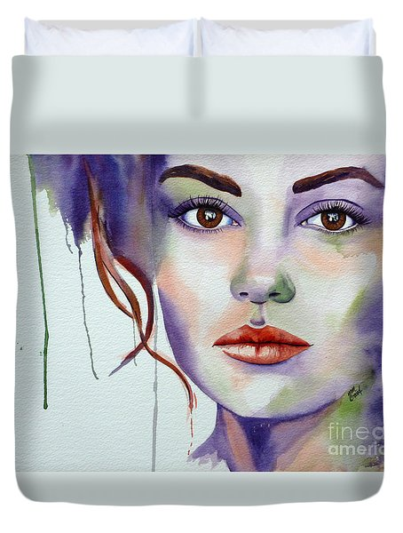 No Illusions Duvet Cover