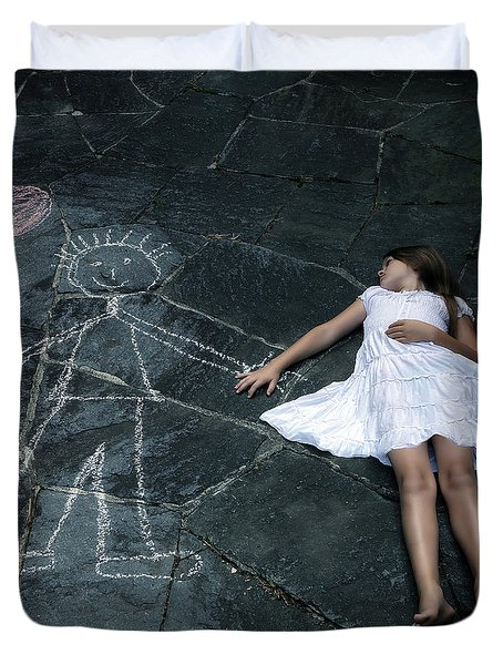 Imaginary Friend Duvet Cover