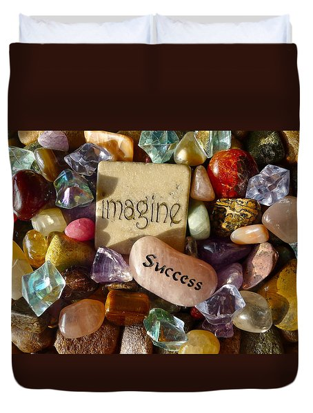 Imagine Success Duvet Cover