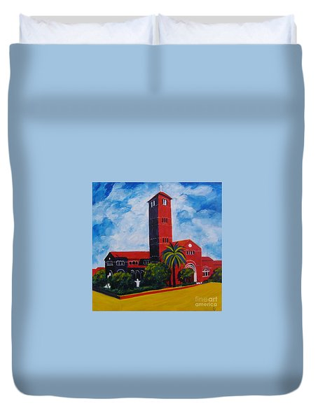 Immaculate Conception Cathedral Duvet Cover