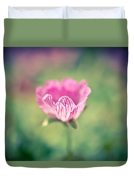 Imperfect Bloom Duvet Cover by Priya Ghose
