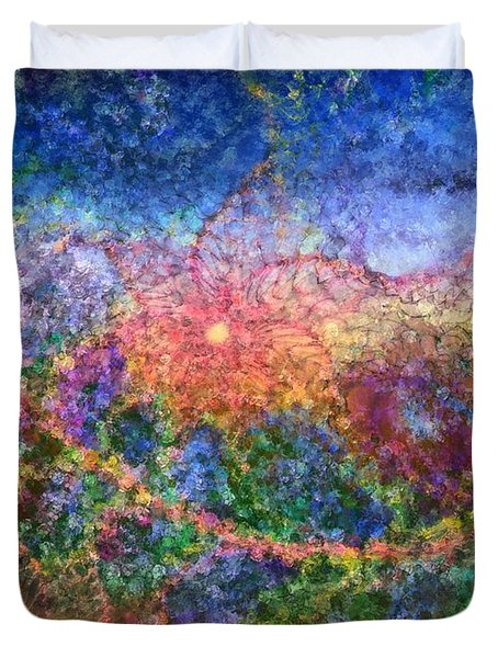 Impressionist Dreams 1 Duvet Cover by Casey Kotas