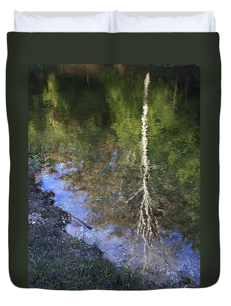 Impressionist Reflections Duvet Cover by Patrice Zinck