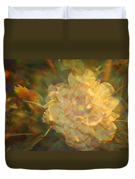 Duvet Cover featuring the photograph Impressionistic Rose by Dora Sofia Caputo Photographic Art and Design