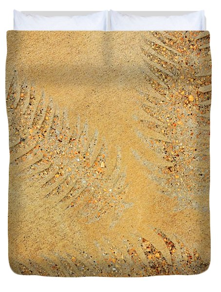 Imprints - Abstract Art By Sharon Cummings Duvet Cover by Sharon Cummings
