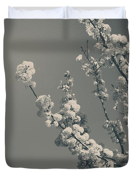 In A Beautiful World Duvet Cover by Laurie Search