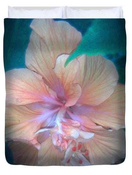 In A Butterfly Garden Duvet Cover