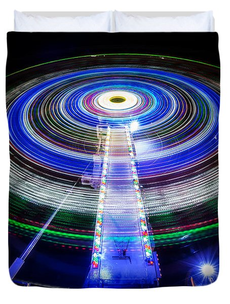 In A Spin Duvet Cover