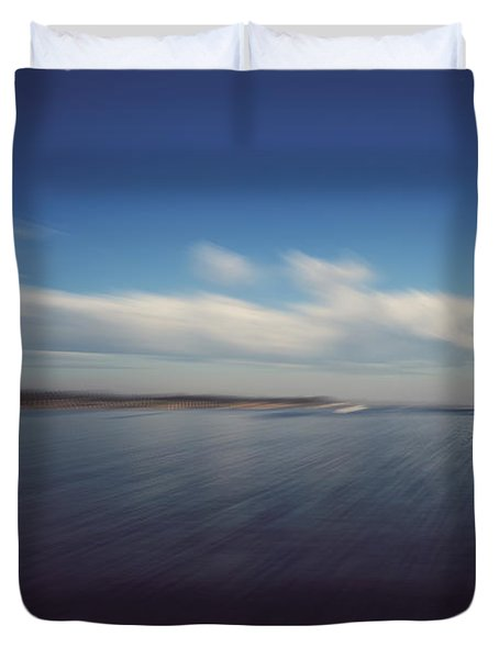 In An Instant Duvet Cover by Laurie Search