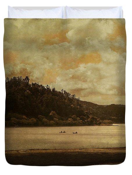 In Dreams I Float Duvet Cover