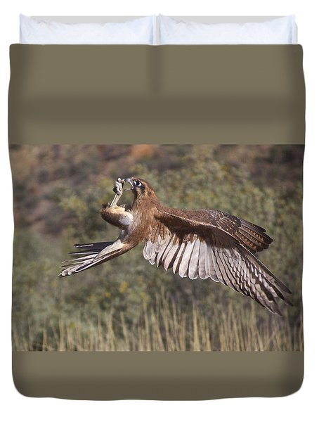 In Flight Meals Duvet Cover
