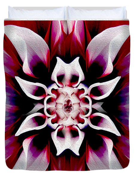 In Full Bloom Duvet Cover by Jon Neidert