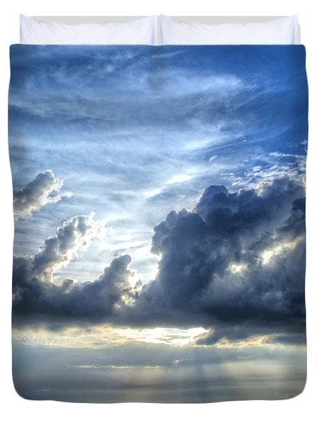 In Heaven's Light - Beach Ocean Art By Sharon Cummings Duvet Cover