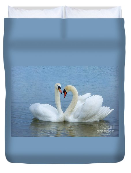 In Love                         Duvet Cover by Marlena Nowaczyk