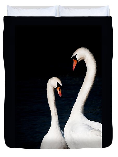 Duvet Cover featuring the photograph In Love by Laura Melis