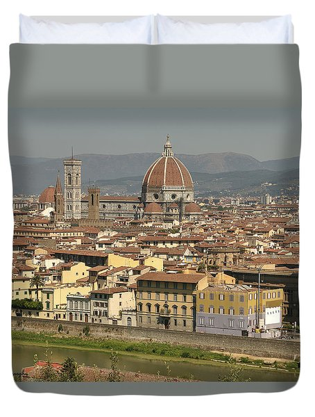 In Love With Firenze - 2 Duvet Cover