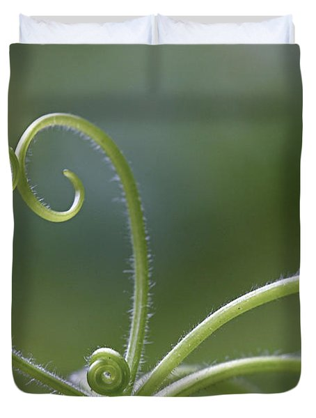 In Love With Nature Duvet Cover by Maria Ismanah Schulze-Vorberg