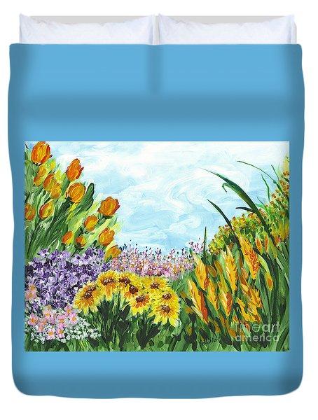 In My Garden Duvet Cover