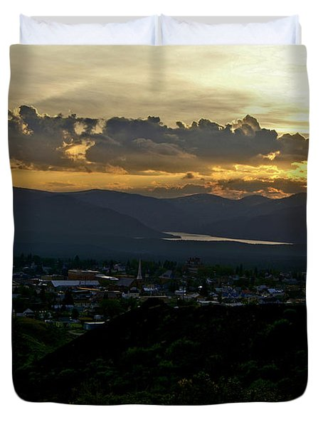 Duvet Cover featuring the photograph In My Place by Jeremy Rhoades