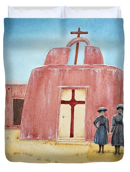 In Old New Mexico II Duvet Cover