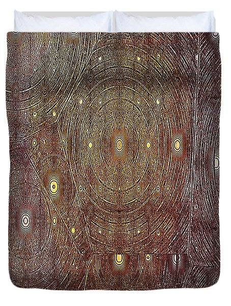 In Portals Of Dreams Duvet Cover by Jeff Swan