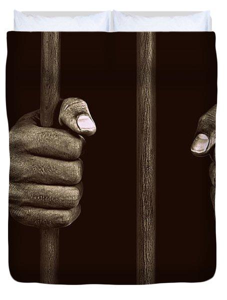 In Prison Duvet Cover