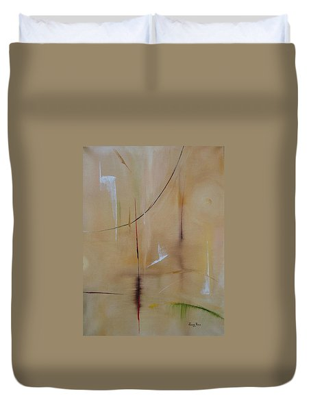 In Pursuit Of Youth Duvet Cover by Judith Rhue
