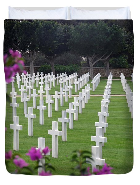 Duvet Cover featuring the photograph In Rememberance by Lucinda Walter