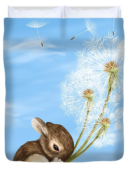 In The Air Duvet Cover