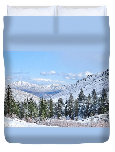 In The Canyon Duvet Cover