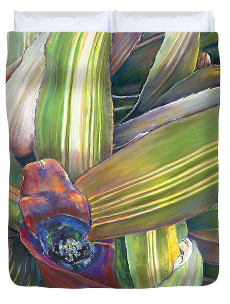 Bromeliad Duvet Cover